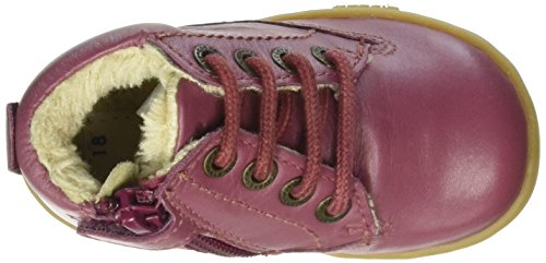Kickers Tracking - Zapatilla Alta Niñas Rosa - Pink (132)