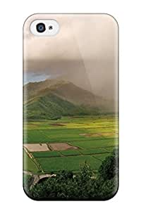Defender Case For Iphone 4/4s, Earth Landscape Pattern