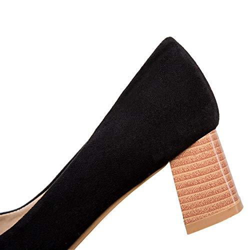 Bajos Zapatos Hlg Corte Medios Bloques Red Matorral Boca Mujer Mary Jane Baja Tacones Puntiagudos qqASxEp7