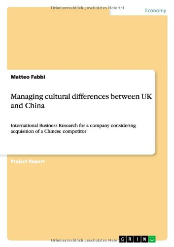 Managing cultural differences between UK and China (Cultural Differences Between Us And China Business)