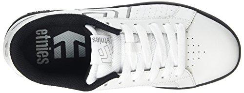 Etnies Fader Ls, Men's Skateboarding Shoes White (White/Black/Grey111)