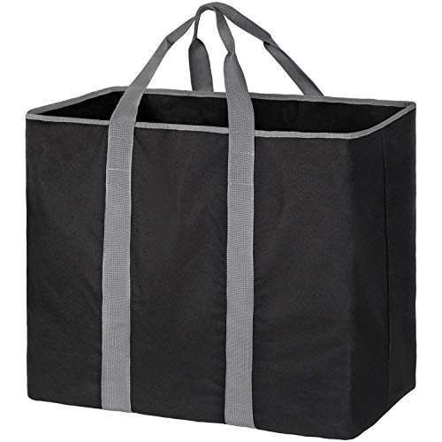 Extra Laundry Baskets Large Shopping Tote Bag Collapsible