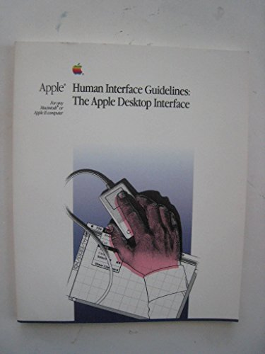 (Apple Human Interface Guidelines: The Apple Desktop Interface)