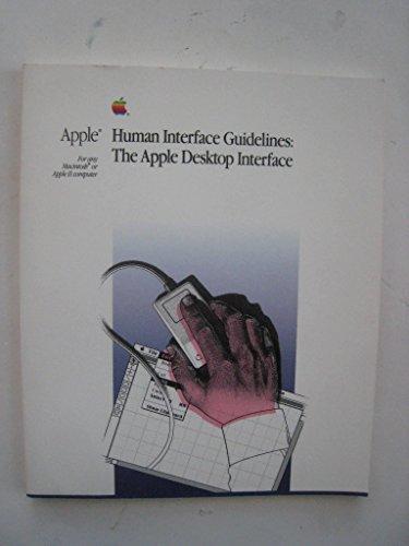 Apple Human Interface Guidelines: The Apple Desktop Interface