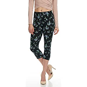 LMB Lush Moda Extra Soft Leggings With Designs- Variety of Prints - 88C