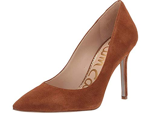 Sam Edelman Women's Hazel Luggage Suede Kid Suede Leather 6 W US ()