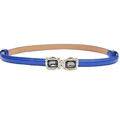 deeseetm-elegant-women-belt-candy-color-leather-waistband-dress-accessories-blue