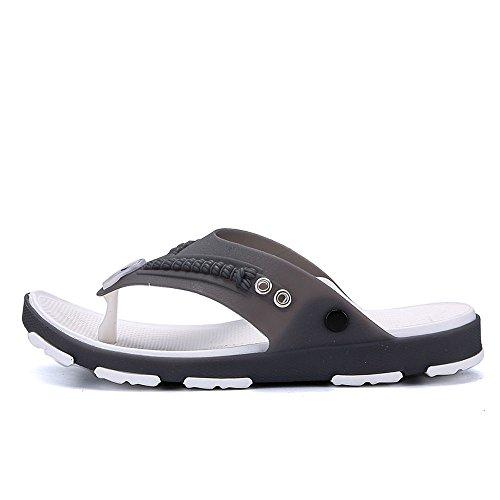 Sandales De Bain Hommes Noirs / Gris woyF7F