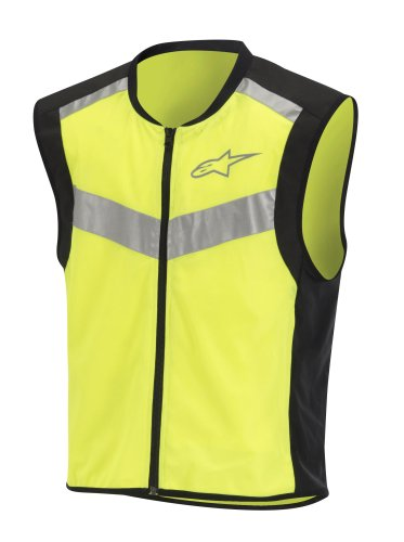 Alpinestars Flare High Visibility Vest - Large/Black/Yellow ()