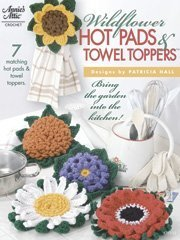 Wildflower Hot Pads and Towel Toppers