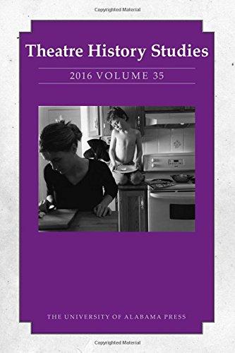 Theatre History Studies 2016, Vol. 35