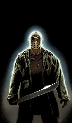 WOWindow Posters Jason Voorhees Friday the 13th Halloween Window Decoration includes 34.5x60 Backlit Poster by WOWindow Posters