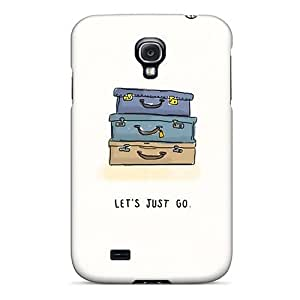 CADike Perfect Tpu Case For Galaxy S4/ Anti-scratch Protector Case (let¡¯s Just Pack Up And Go)
