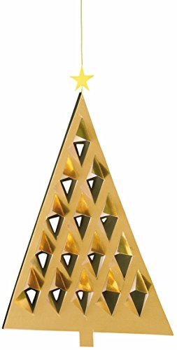 Flensted Mobiles Prism Tree Gold Hanging Mobile - 11 Inches Cardboard -