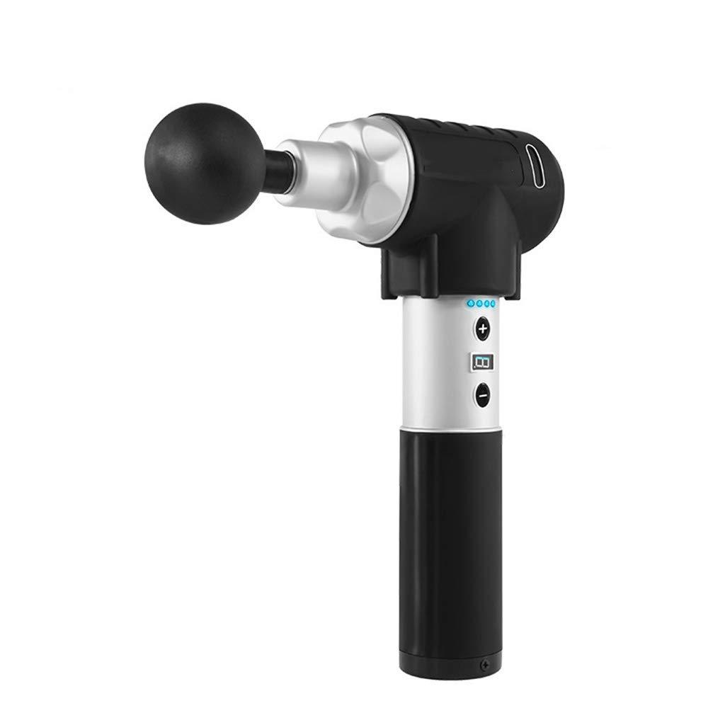 マッサージガン - ディープティシューマッサージャーボディーペインレリーフ用プロフェッショナルコードレスデバイス - ポータブル、筋肉刺激振動デバイスパーカッシブセラピーツール B07RZSWZGG