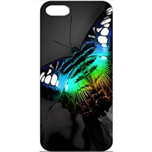 DIY Apple iPhone 5 Case Customized Gifts Personalized With Animals Colorful Butterfly Normal Birds Animals White...
