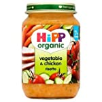 HiPP Organic Vegetable & Chicken Riso...