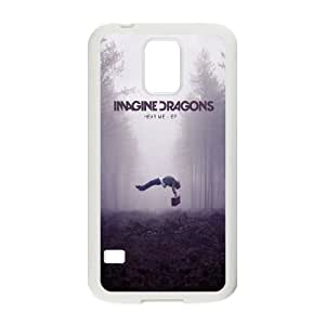 YUAHS(TM) New Fashion Cover Case for SamSung Galaxy S5 I9600 with imagine dragons YAS930585