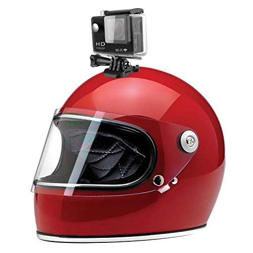 eXuby Bike Camera – Motorcycle Helmet Camera Defends You – Dirt Bike Helmet Camera Captures Tricks – Protect Against Motorists When Cycling – HD 1080p Action Camera