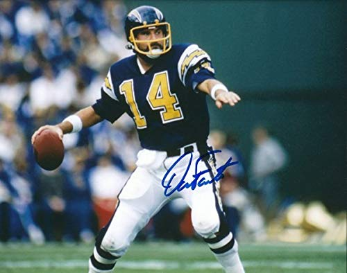 Autographed Signed Dan Fouts 8x10 San Diego Chargers Photo - Certified Authentic ()