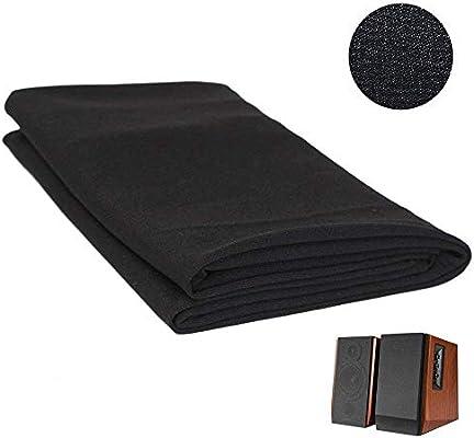 Gray Speaker Grill Cloth Stereo Mesh Fabric Dustproof Speaker Mesh Cloth Protective Grille Cover for Stereo Audio Speaker Repair 140cm x 50cm Tihebeyan Speaker Cloth Stereo Grill Mesh Fabric