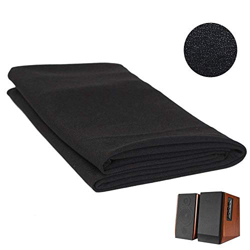 2pcs Speaker Fabric Grill Dustproof Protective Cover protective cloth for Audio Speaker Repair ()