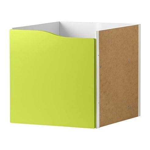 Ikea regal kallax mit türen  IKEA KALLAX Regal Einsatz mit Tür ohne Griff in grün; (33x33cm ...