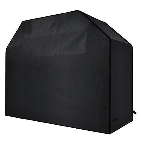 Lunvon Copertura Barbecue Impermeabile Telo Protettivo per BBQ GrillAnti Pioggia Polvere Sole Neve Tessuto Oxford 147x60x121cm