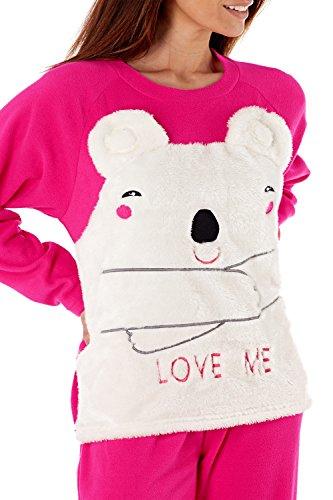 CICI orsetto love me Pink PJ Orsetto di Donna Adwpzqn