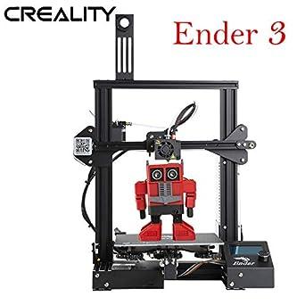 Creality Ender-3 3D Printer Aluminum DIY with Resume Printing 220x220x250mm New