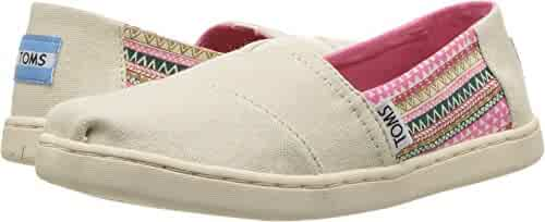 TOMS Kids Girl's Alpargata (Little Kid/Big Kid) Natural Hemp/Mud Hut 5.5 Big Kid M