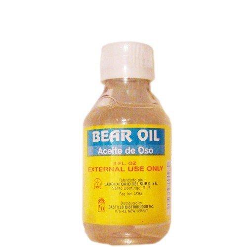 Bear Oil Aceite de Oso 4oz