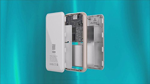 irecadata i7 128GB Wireless Wifi External Portable USB 3.1 Solid State Drive SSD Built in 2250 mah Power Bank by irecadata (Image #5)
