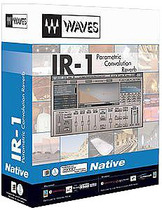 Waves IR1 V2 Convolution Reverb Plug In (Convolution Reverb Plug)
