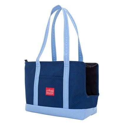 manhattan-portage-pet-carrier-tote-bag-navy-ice-blue
