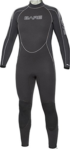 Bare 5mm Velocity Full Suit Men's Wetsuit Blue, 2X-Large/Short