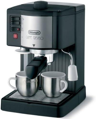 DeLonghi Pumped Espresso/Cappuccino Maker, BAR14, Aluminio, Negro ...