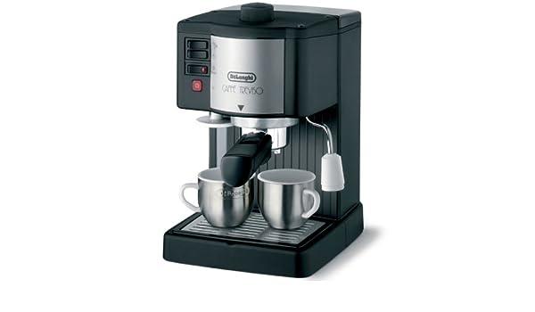 DeLonghi Pumped Espresso/Cappuccino Maker, BAR14, Aluminio, Negro - Máquina de café: Amazon.es: Hogar
