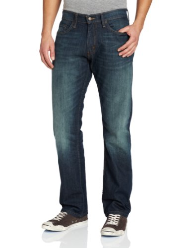 Levi's Men's 514 Straight fit Stretch Jean, Midnight, 32x34 (514 Slim Straight Mens Jeans)