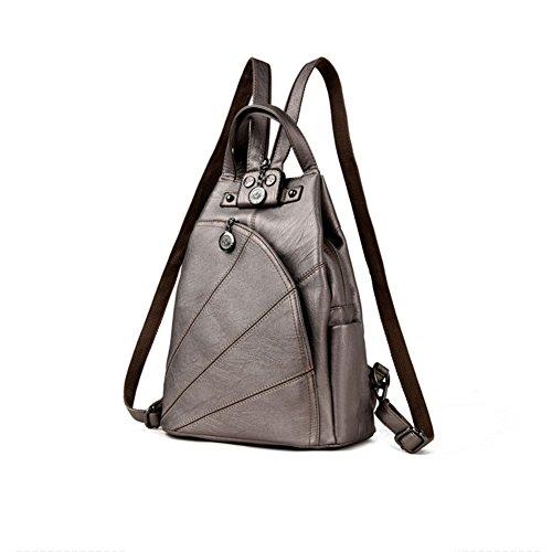 CJ bag Retro traveling shoulder Retro Leisure bag CJ 12 backpack Or8UpO