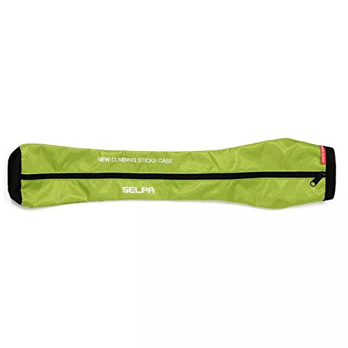 Hikup Hiking Stick Bag Trekking Pole Bag with Waterproof 3 colors (GREEN) Nylon Trekking Pole