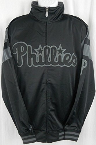 VF Philadelphia Phillies MLB Licensed Embroidered Tricot Jacket Big & Tall Sizes (LT)