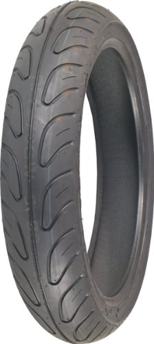Shinko 006 Podium Radial - Front - 130/70-16 , Position: Front, Tire Size: 130/70-16, Rim Size: 16, Tire Type: Street, Tire Construction: Radial, Tire Application: Sport, Load Rating: 61, Speed Rating: W XF87-4020 by Shinko