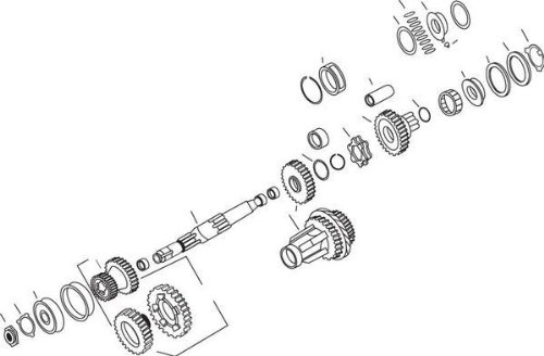 Andrews Main Drive Gear 204280