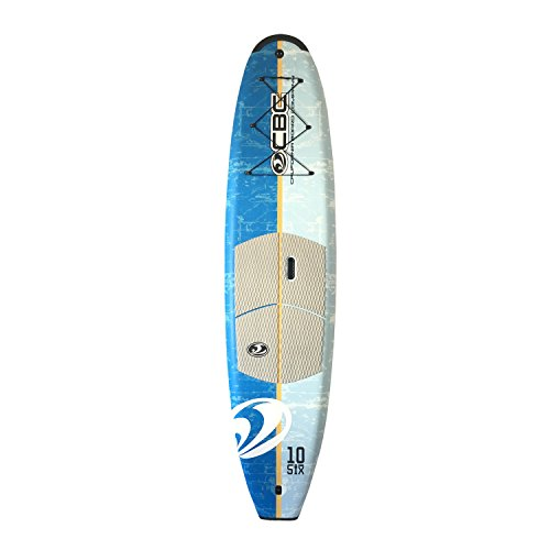 California Board Company Cbc 10'6 Soft SUP Package with Bungee Deck & Traction, Large by California Board Company