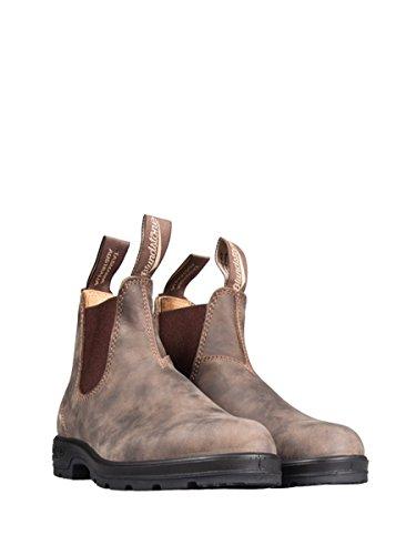 Boots Rustic Adults' Crazy Chelsea Unisex Marrone Blundstone 587 Horse Classic q6YtXO
