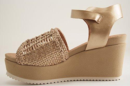 Karston Women's Court Shoes Gold KXHiu