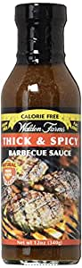 Walden Farms Calorie Free Barbecue Sauce - Thick & Spicy 12 fl oz Bottle, 1 Unit