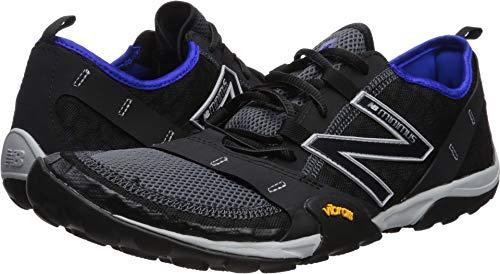 New Balance Men's 10v1 Minimus Running Shoe, Black/uv Blue, 10.5 W US