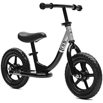 Critical Cycles Cub No-Pedal Balance Bike for Kids, Black